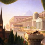 Thomas Cole, The Architect's Dream, 1840. oil on canvas. 53 x 84 1/16 in. Toledo Museum of Art
