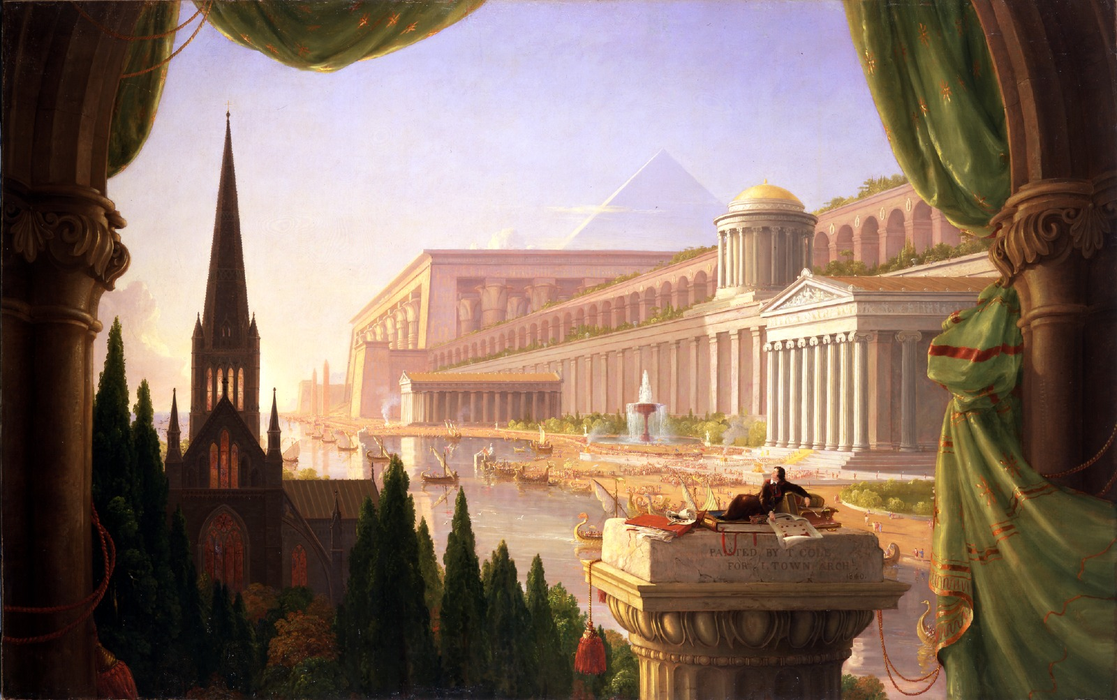 2016 Exhibition – Thomas Cole: The Artist as Architect