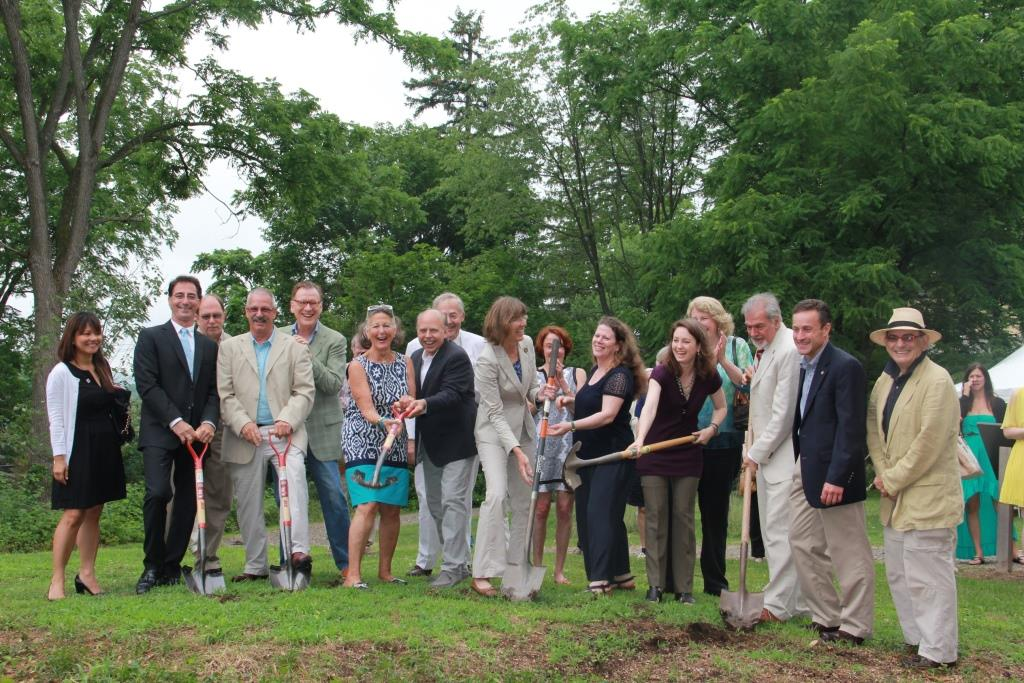 We Officially Broke Ground Today on the New Studio
